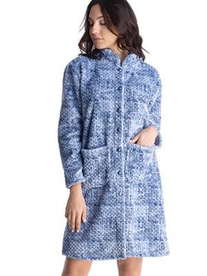 Γυναικεία Ρόμπα RACHEL - Ζεστό & Απαλό Fleece - Χειμώνας 2021/22
