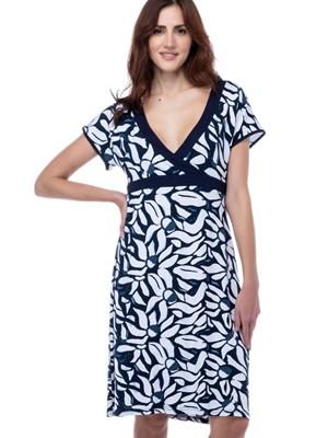 Φόρεμα SECRET POINT - Αέρινο Viscose - All Over Σχέδιο - Καλοκαίρι 2021