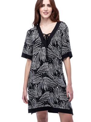 Φόρεμα SECRET POINT - Απαλό Viscose - Animal Σχέδιο - Καλοκαίρι 2021
