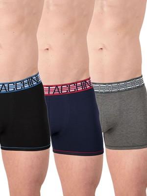 Ανδρικό Boxer SERGIO TACCHINI - Ελαστικό Βαμβάκι - Φαρδύ Λάστιχο & Logo - 3 Τεμάχια