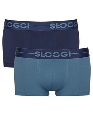 SLOGGI Men Go H Hipster M008 - Αγνό Βαμβάκι - Πακέτο με 2 - Χειμώνας 2020