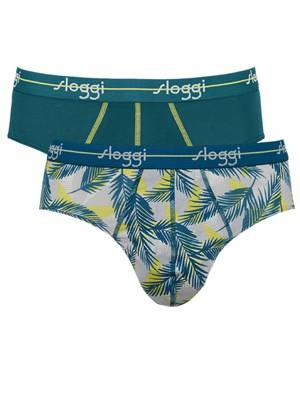 SLOGGI Men Start Midi V016 - Αγνό Βαμβάκι - Πακέτο με 2 - Καλοκαίρι 2020