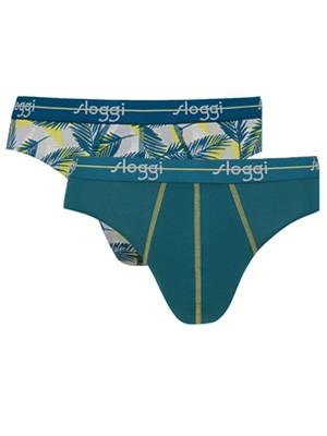 SLOGGI Men Start Mini V016 - Αγνό Βαμβάκι - Πακέτο με 2 - Καλοκαίρι 2020