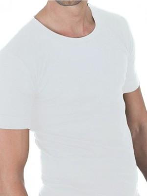 Sloggi Sporty Αντρική Κοντομάνικη Φανέλα Λευκή (2 τεμάχια)