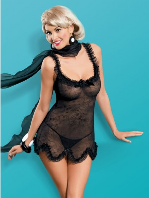 Obsessive PICANTINA Babydoll - Διακόσμηση Δαντέλας