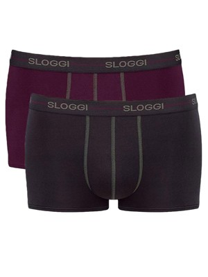Sloggi Men Start Hipster - Αγνό Βαμβάκι - Πακέτο με 2 M022