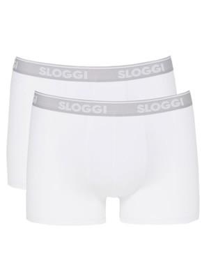 SLOGGI Men Go Abc H Short 03 - Αγνό Βαμβάκι - Πακέτο με 2