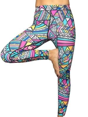 Κολάν Παντελόνι Up&Fit - Ελαστικό  Ύφασμα - Ζωντανά Χρώματα