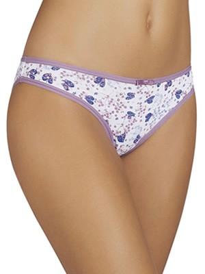 Bikini Slip YSABEL MORA - Ελαστικό Βαμβάκι - All Over Σχέδιο - Πακέτο με 2