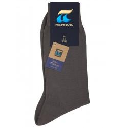 Πουρνάρα 110 - 100% Βαμβακερή Λεπτή Μονόχρωμη Κάλτσα