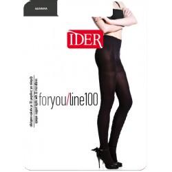 Καλσόν IDER For you line  100 den-LASTEX- Μικροϊνα 3D
