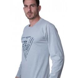 Ανδρική Μπλούζα Homewear Harmony - 100% Βαμβακερή - Χειμώνας 18/19