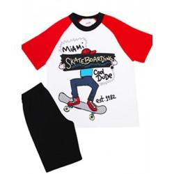 Παιδική Πυτζάμα MINERVA Skateboarding - 100% Αγνό Βαμβάκι - Smart Pick SS20