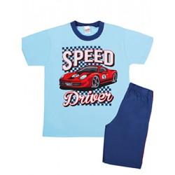 Παιδική Πυτζάμα MINERVA Speed Driver - 100% Αγνό Βαμβάκι - Smart Pick SS20