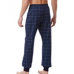 MINERVA Ανδρικό Παντελόνι Homewear - Καρό Σχέδιο - 100% Βαμβάκι Interlock - Χειμώνας 2021/22