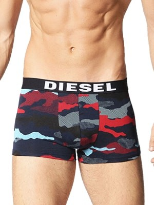 Diesel Shawn Boxers – Πακέτο με 3 – Army σχέδιο