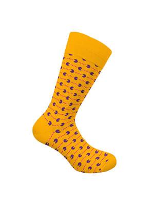 WALK Ανδρική Βαμβακερή Κάλτσα Pacman - Χειμώνας 2021/22