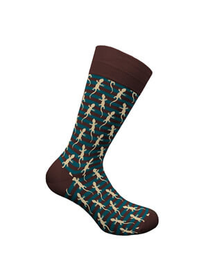 WALK Ανδρική Κάλτσα BAMBOO Lizard - Χειμώνας 2021/22