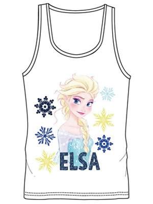 Παιδική Φανέλα Minerva - Παράσταση Elsa Frozen - 100% Βαμβάκι
