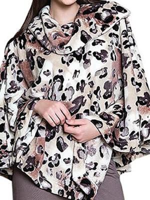 Πόντσο Πολυτελείας HARMONY - Πολύ Ζεστό Απαλό Fleece