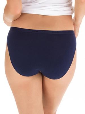 DIM Γυναικεία Σλιπς Les Pockets Cotton 5C17 - Βαμβακερά - Πακέτο με 3 5MO