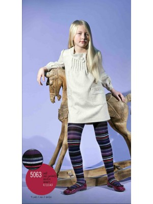 Παιδικό Καλσόν IDER - Bαμβακερό Αδιάφανο -  Με γεωμετρικό σχέδιο