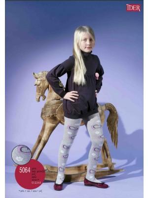 Παιδικό Καλσόν IDER - Αδιάφανο Bαμβακερό  -  Με σχέδιο