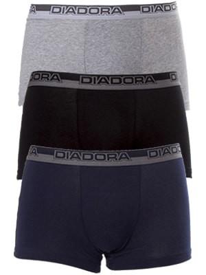 Diadora Boxer - Βαμβακερό - Φαρδύ Λάστιχο - 3 τεμάχια - 5509