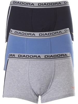 Diadora Boxer 5857 - Βαμβακερό - Φαρδύ Λάστιχο - Logo Diadora - 3 τεμάχια
