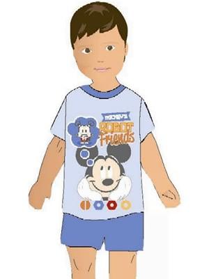 Βρεφική Πυτζάμα Minerva Mickey Robot - 100% Βαμβάκι