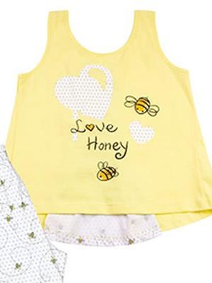 Παιδική Πυτζάμα MINERVA BEE & CANDY - 100% Αγνό Βαμβάκι - Smart Choice SS21
