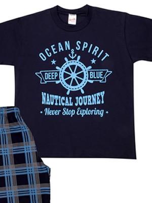 Παιδική Πυτζάμα MINERVA OCEAN SPIRIT - 100% Αγνό Βαμβάκι - Smart Choice SS21