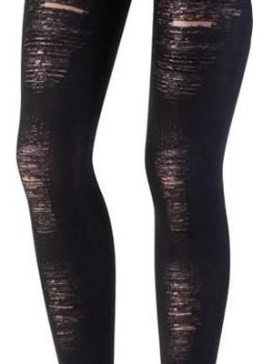 Καλσόν Microfibra  Ider - Αδιάφανο Οpaque - Σχέδιο Σκισίματα - Fashion Look