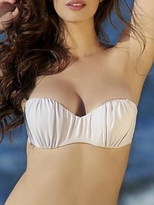 Μαγιό Club Neuf Strapless Top - Ενίσχυση - Αόρατη Μπανέλα - για Μεγάλο Στήθος