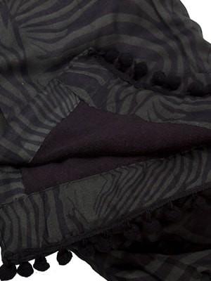 Πετσέτα Παραλίας Bluepoint Zebra - Απαλό Ύφασμα - Πον Πον