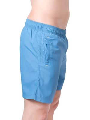 Ανδρικό Μαγιό Diadora - Shorts Κανονικό - Πλαϊνές Τσέπες - Ciel
