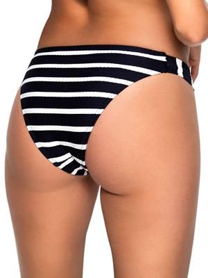 Μαγιό Blu4u Navy Stripe Bikini Κανονικό Κοφτό - Lacoste Ύφασμα - Καλοκαίρι 2018