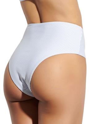 Μαγιό BLU4U Girly Stripes - Slip Bikini Ψηλοκάβαλο - Καλοκαίρι 2021