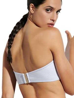 Μαγιό BLU4U Girly Stripes Top Strapless - Αφαιρούμενη Ενίσχυση - Καλοκαίρι 2021