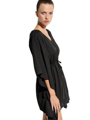 BLU4U Φόρεμα Beachwear Loose Kaftan - Ποιοτικό Ύφασμα - Καλοκαίρι 2021