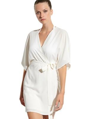 BLU4U Φόρεμα Beachwear Wrap Dress- Αέρινο Ποιοτικό Ύφασμα- Καλοκαίρι 2021