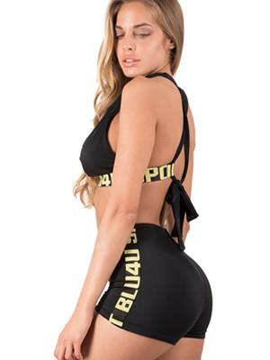 Set Μαγιό BLU4U Sports - Τοπ Τρίγωνο με Ενίσχυση + Bikini Boxer - Καλοκαίρι 2019