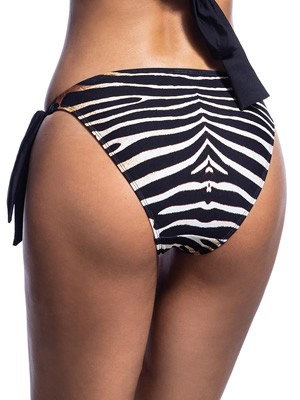 Μαγιό BLUEPOINT Zebra Bikini Κανονικό - Δένει στο Πλάι - Καλοκαίρι 2021