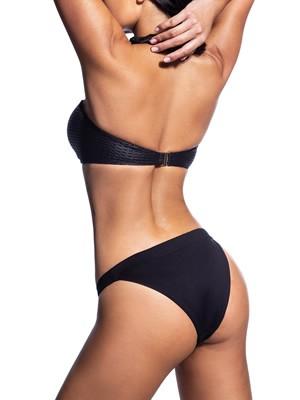 Set Μαγιό BLUEPOINT Work It - Strapless & Brazilian Bikini - Leather Look - Καλοκαίρι 2021