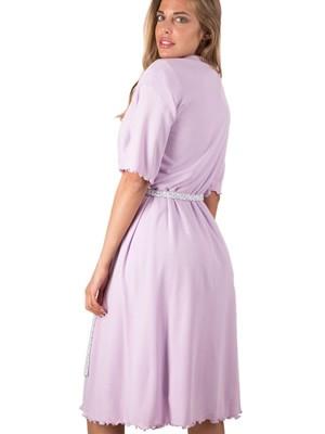 BONNE NUIT Set Homewear - Νυχτικό & Ρόμπα - 100% Βαμβάκι - Καλοκαίρι 2019