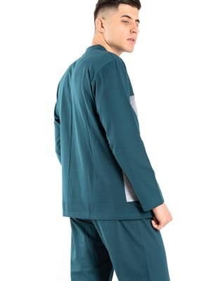 Ανδρική Πυτζάμα BONNE NUIT - Γεμάτο Βαμβάκι - Fleece Επένδυση- Smart Choice FW20/21