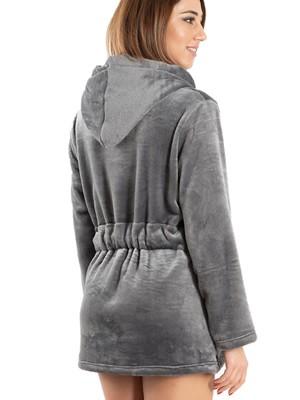 BONNE NUIT Ρόμπα Πολυτελείας - Απαλό & Ζεστό Fleece - Κουκούλα