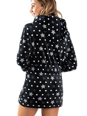 Ρόμπα Πολυτελείας BONNE NUIT - Απαλό & Ζεστό Fleece - Stars - Smart Choice FW20/21