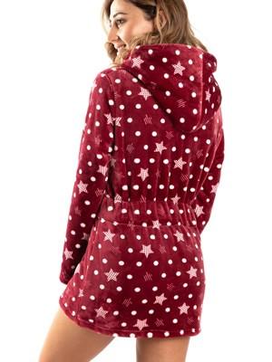 Ρόμπα Πολυτελείας BONNE NUIT - Ζεστό & Απαλό Fleece - Stars - Smart Choice FW20/21