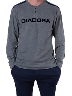Ανδρική Πυτζάμα Homewear DIADORA - 100% Βαμβάκι Interlock